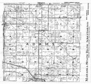 Adams Township, Lacey - East, Mahaska County 1949